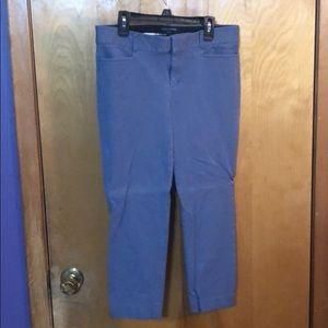 Banana Republic Sloan Fit Cropped pants